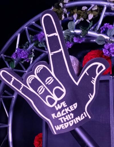 Wedding Rock Hand