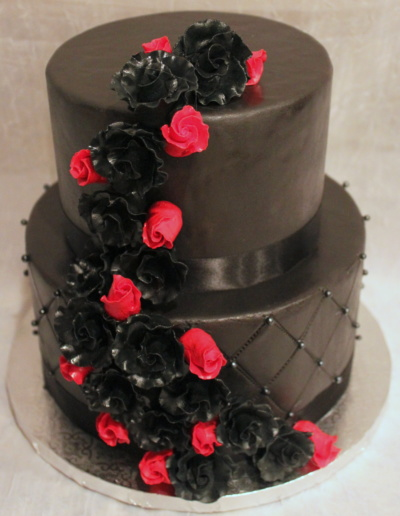 Black Diamond Cake
